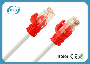 OFC Cat5e UTP Dây Patch 4 Twisted cặp / BC CCA Red Cat5e vá cáp