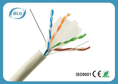 OFC Gaming 1000 FT Cáp Ethernet / 23AWG PVC FTP Cat6 Cáp Ethernet Xám